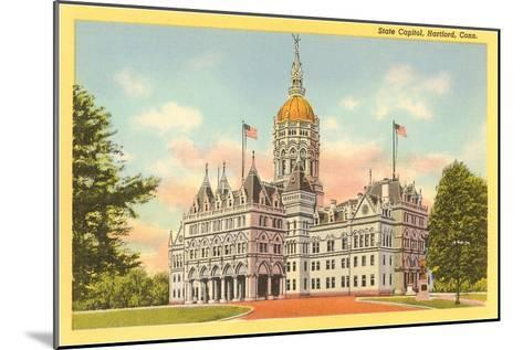 State Capitol, Hartford, Connecticut--Mounted Art Print