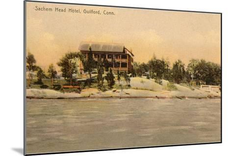 Sachem Head Hotel, Guilford, Connecticut--Mounted Art Print