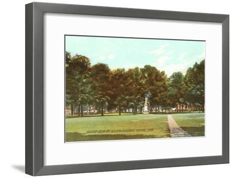 Park, Guilford, Connecticut--Framed Art Print