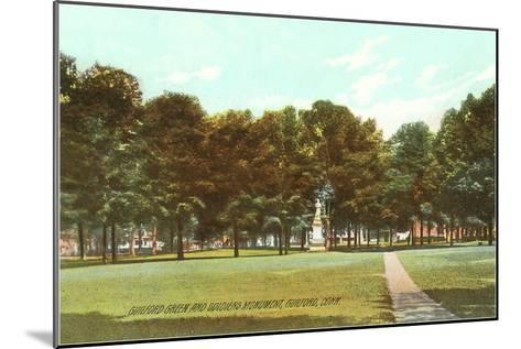 Park, Guilford, Connecticut--Mounted Art Print