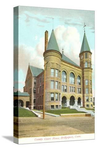 Courthouse, Bridgeport, Connecticut--Stretched Canvas Print