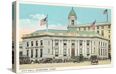 City Hall, Stamford, Connecticut--Stretched Canvas Print