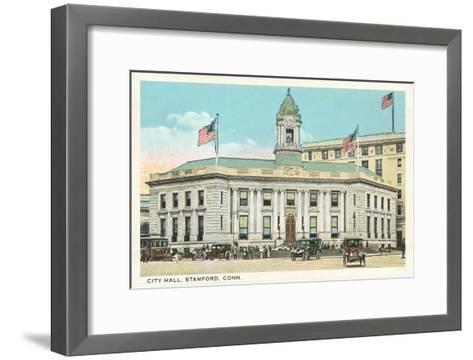 City Hall, Stamford, Connecticut--Framed Art Print