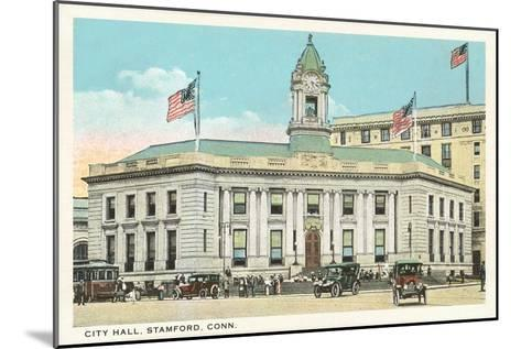 City Hall, Stamford, Connecticut--Mounted Art Print