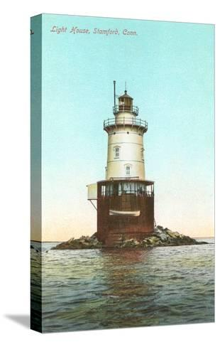 Lighthouse, Stamford, Connecticut--Stretched Canvas Print