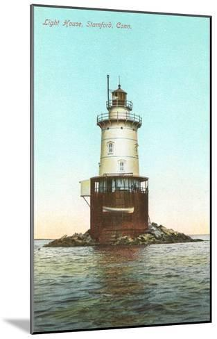 Lighthouse, Stamford, Connecticut--Mounted Art Print