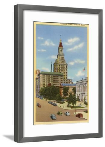 Travelers Tower, Hartford, Connecticut--Framed Art Print