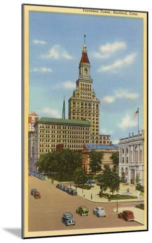 Travelers Tower, Hartford, Connecticut--Mounted Art Print