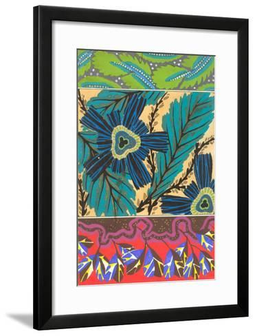 Tri-Part Decorative Arts--Framed Art Print
