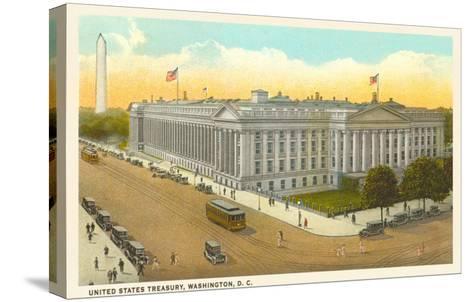 US Treasury, Washington D.C.--Stretched Canvas Print