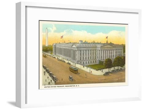 US Treasury, Washington D.C.--Framed Art Print