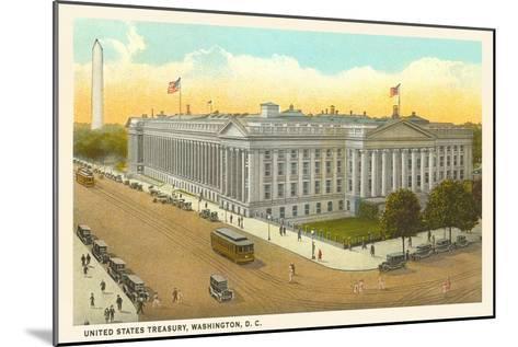 US Treasury, Washington D.C.--Mounted Art Print