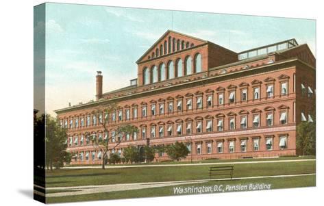 Pension Building, Washington D.C.--Stretched Canvas Print