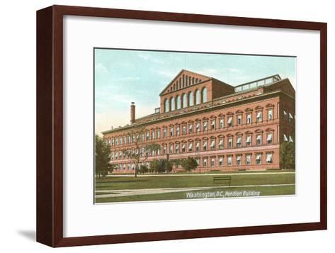 Pension Building, Washington D.C.--Framed Art Print