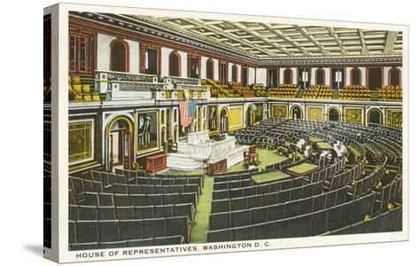 House of Representatives, Washington D.C.--Stretched Canvas Print