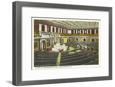House of Representatives, Washington D.C.--Framed Art Print