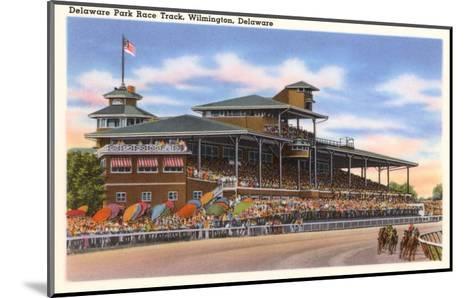 Delaware Park Race Track, Wilmington, Delaware--Mounted Art Print