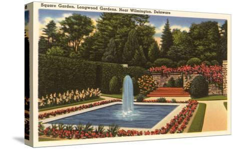 Longwood Gardens, Wilmington, Delaware--Stretched Canvas Print