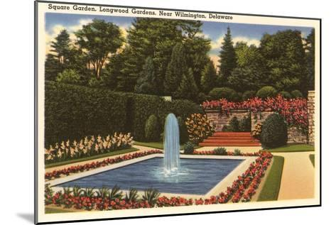 Longwood Gardens, Wilmington, Delaware--Mounted Art Print