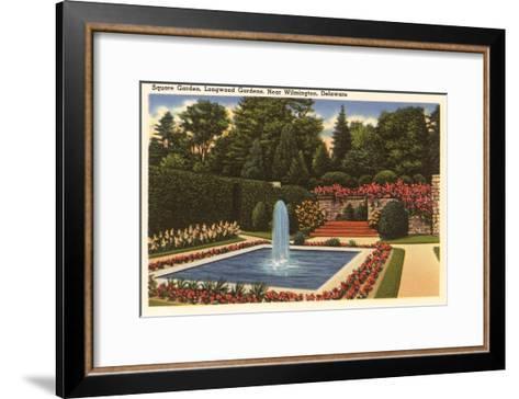 Longwood Gardens, Wilmington, Delaware--Framed Art Print