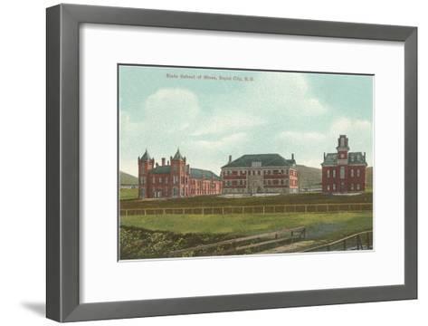 State School of Mines, Rapid City, South Dakota--Framed Art Print
