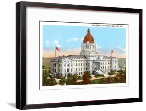 State Capitol, Pierre, South Dakota--Framed Art Print