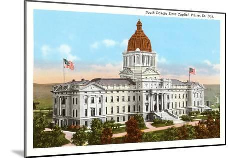 State Capitol, Pierre, South Dakota--Mounted Art Print