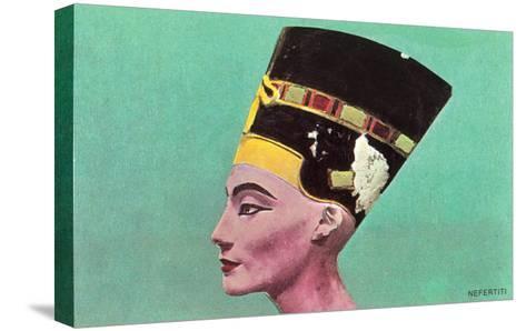 Nefertiti--Stretched Canvas Print