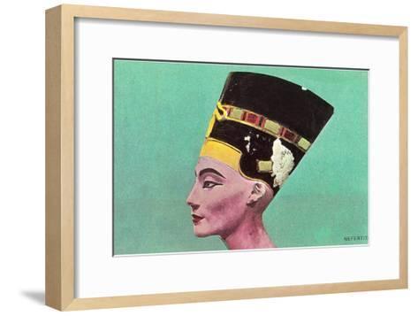 Nefertiti--Framed Art Print