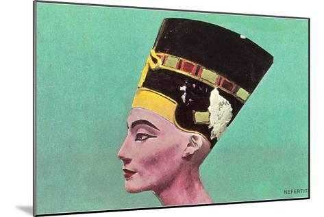 Nefertiti--Mounted Art Print