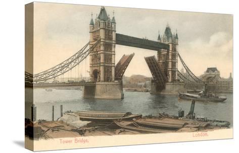 Tower Bridge, London, England--Stretched Canvas Print