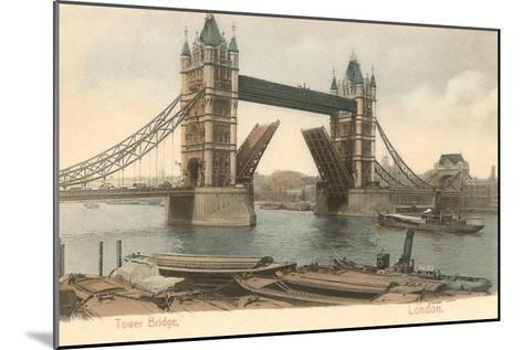 Tower Bridge, London, England--Mounted Art Print