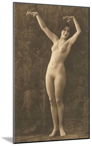 Exotic Vintage Nude--Mounted Art Print