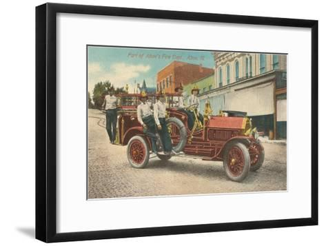 Fire Equipment, Alton, Illinois--Framed Art Print