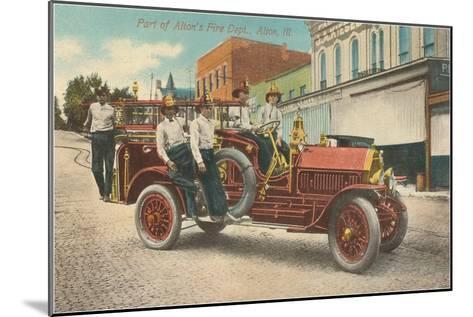 Fire Equipment, Alton, Illinois--Mounted Art Print