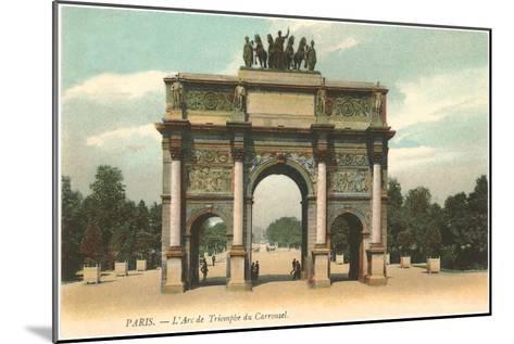 Arc de Triomphe, Paris, France--Mounted Art Print