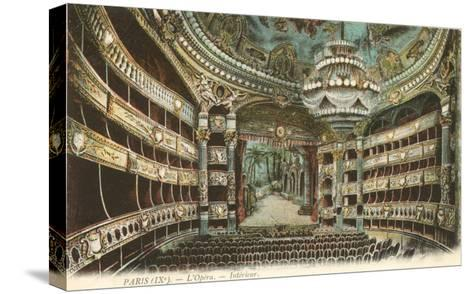 Interior, Opera House,Paris, France--Stretched Canvas Print