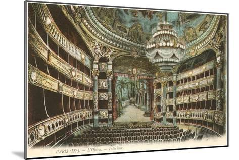 Interior, Opera House,Paris, France--Mounted Art Print