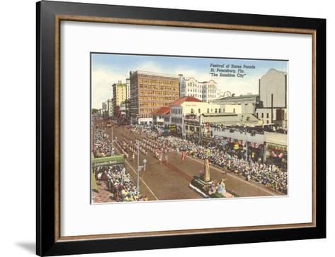 Parade, St. Petersburg, Florida--Framed Art Print