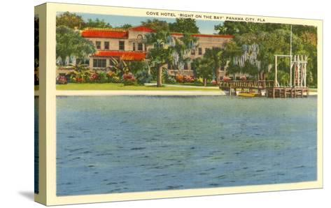 Cove Hotel, Panama City, Florida--Stretched Canvas Print