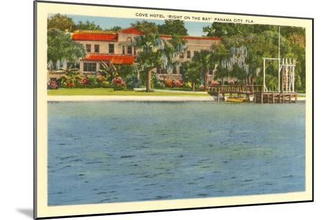 Cove Hotel, Panama City, Florida--Mounted Art Print