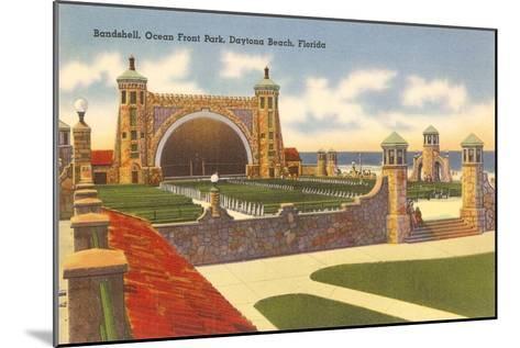 Band Shell, Daytona Beach, Florida--Mounted Art Print