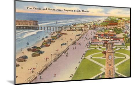 Pier, Casino, Daytona Beach, Florida--Mounted Art Print