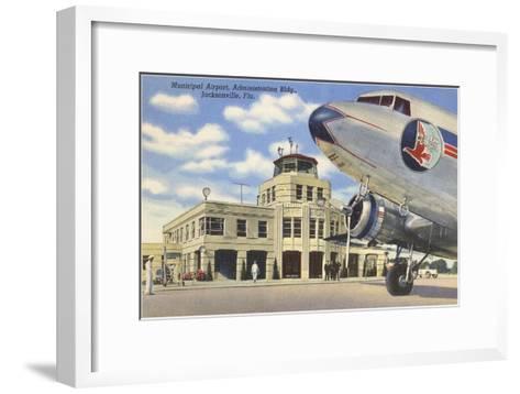 Airport, Jacksonville, Florida--Framed Art Print