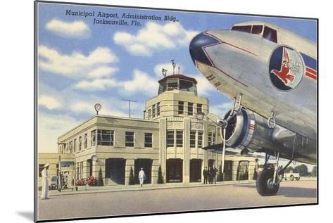 Airport, Jacksonville, Florida--Mounted Art Print