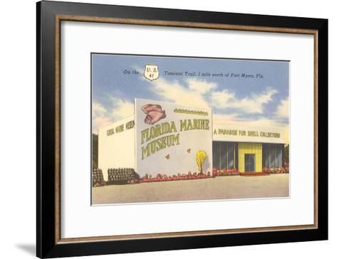 Florida Marine Museum, Ft. Myers, Florida--Framed Art Print
