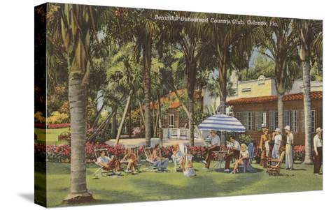 Country Club, Orlando, Florida--Stretched Canvas Print
