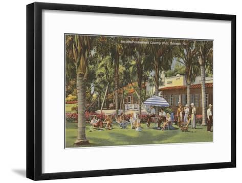 Country Club, Orlando, Florida--Framed Art Print