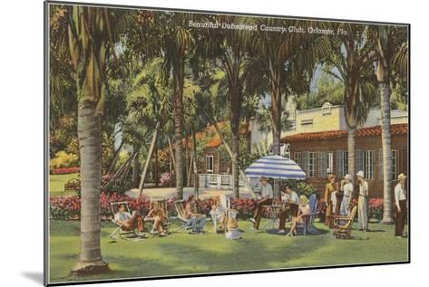 Country Club, Orlando, Florida--Mounted Art Print