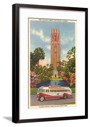 Bok Singing Tower, Lake Wales, Florida--Framed Art Print